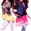 Two Dancing Girls PNG HD
