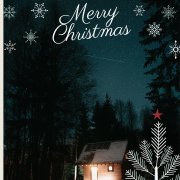Merry Christmas Editing Background 25th December Picsart Full HD