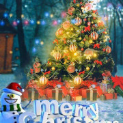 Merry Christmas Editing Background 25th December picsart Photo Download