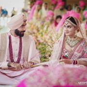 Jasprit Jasbir singh Bumrah with wife wedding pic HD Photos Wallpapers Images & WhatsApp DP