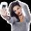 Girl Taking Selfie Photo PNG | Transparent Image Full HD