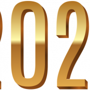 Happy new year 2021 Text PNG Transparent Image Download