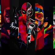 Deadpool and Joker Wallpaper Full HD Free Wallpapers