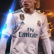 Real Madrid Luka Modric Phone