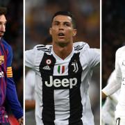 Neymar Lionel Messi Cristiano Ronaldo