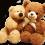 Valentine's Teddy Bear PNG Image - Transparent